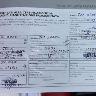 Fiat 500 Abarth 160hp