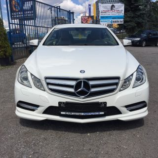 Mercedes E 220 CDI COUPE Blue Efficiency