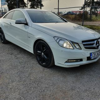 Mercedes E220CDI coupe